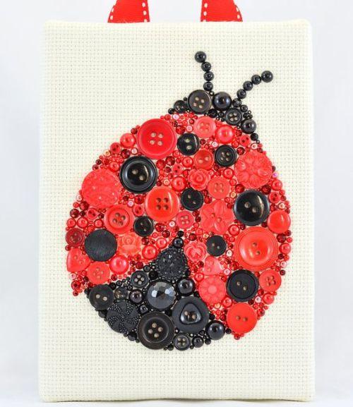 ba-LadyBug-PaintedWithButtons-etsy.com