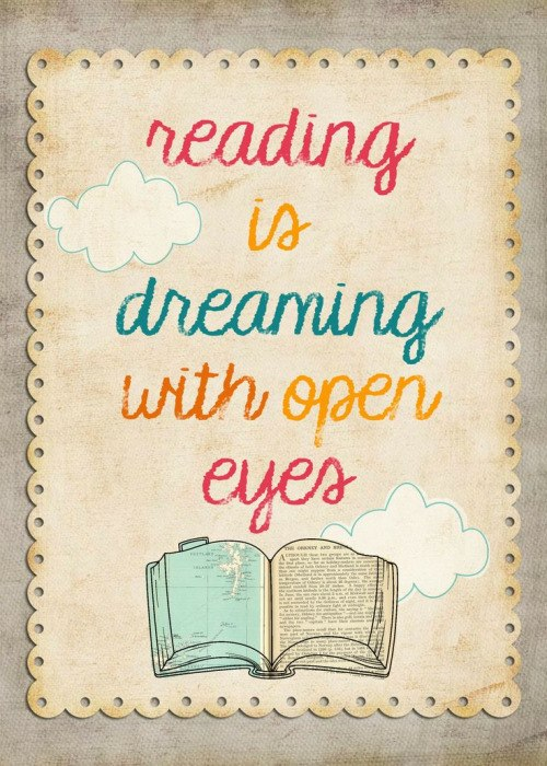 I Love Reading Books via Cathy Ruggiero