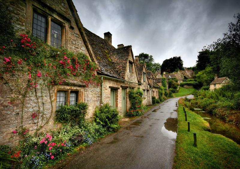 Bibury, England, UK via Anguskirk
