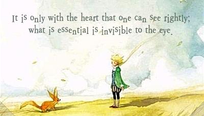 Antonine de Saint-Exupery, The Little Prince, 20 Quotes from Children's Books Every Adult Should Know via Encurious.com via Melissa A. Eastman