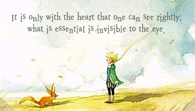 Antonine de Saint-Exupery, The Little Prince, 20 Quotes from Children's Books Every Adult Should Know via Encurious.com via Melissa A. Eastman