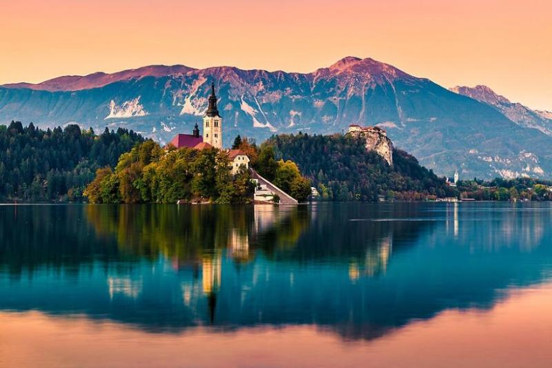 Bled-Julian Alps,Slovenia via Unknown Photographer