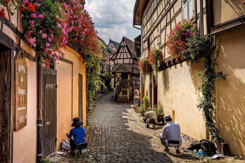 Eguisheim, France via Jean-Claude-Sch