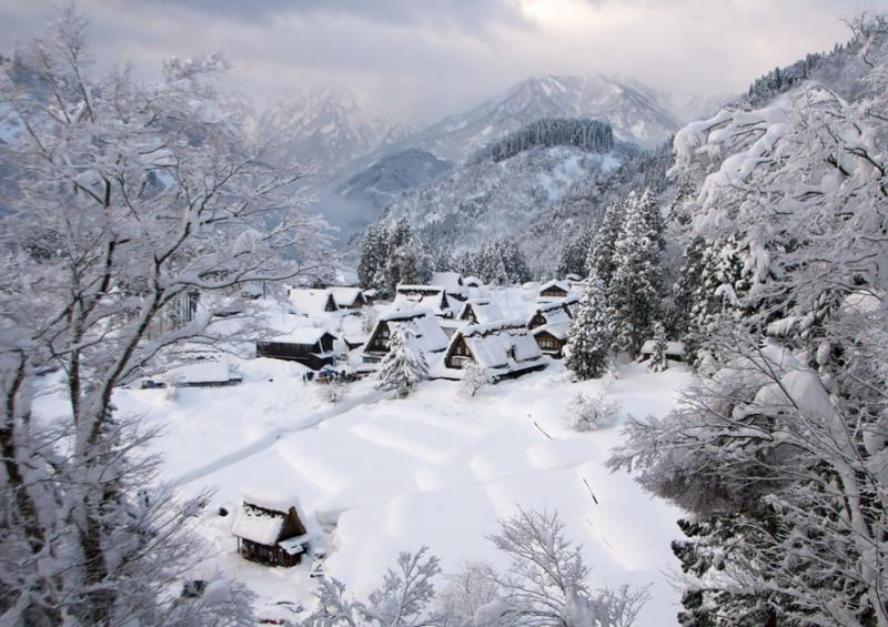 Gokayama Japan - photographer unknown