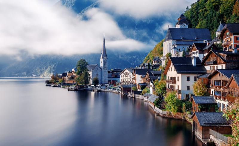 Hallstatt, Austria via Herison Black