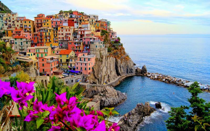 Manarola, Cinqueterretown, Italy via campingbellavista via email from Marsha Koenig