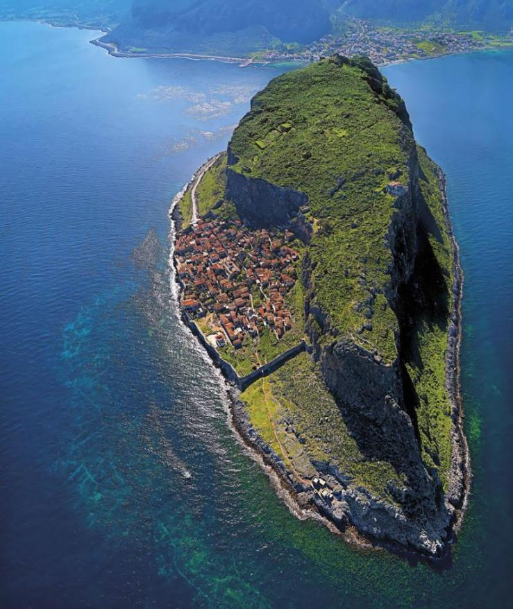 Monemvasia, Greece via unknown