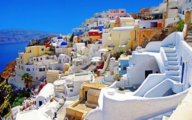 Oia Greece via Paow Magazine