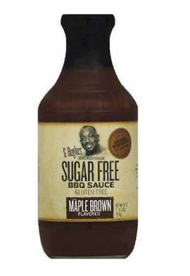G Hughes Smokehouse Sugar Free BBQ Sauce Gluten Free Hickory Flavored
