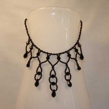 """Dark Countess"" Necklace by Robyn Soules"
