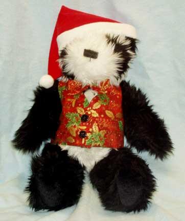 """""""Panda Santa Bear"""" by Debbie Garrett"""
