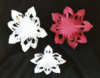 Quilled Snowflakes - Set of 3 by Mary Frey