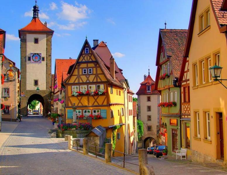 Rothenburg Ob der Tauber, Germany via Triposo