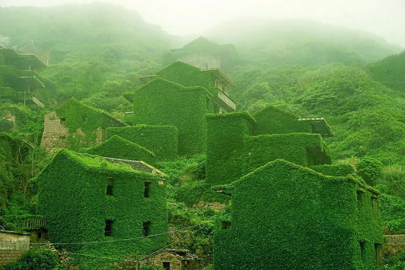 Shengsli Island, China via Weibo