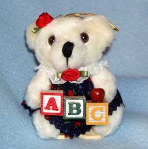 Christmas Teacher Ornament by Debbie Garrett