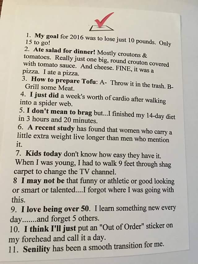 Funny Thoughts via Cindy Bassnett Thurman