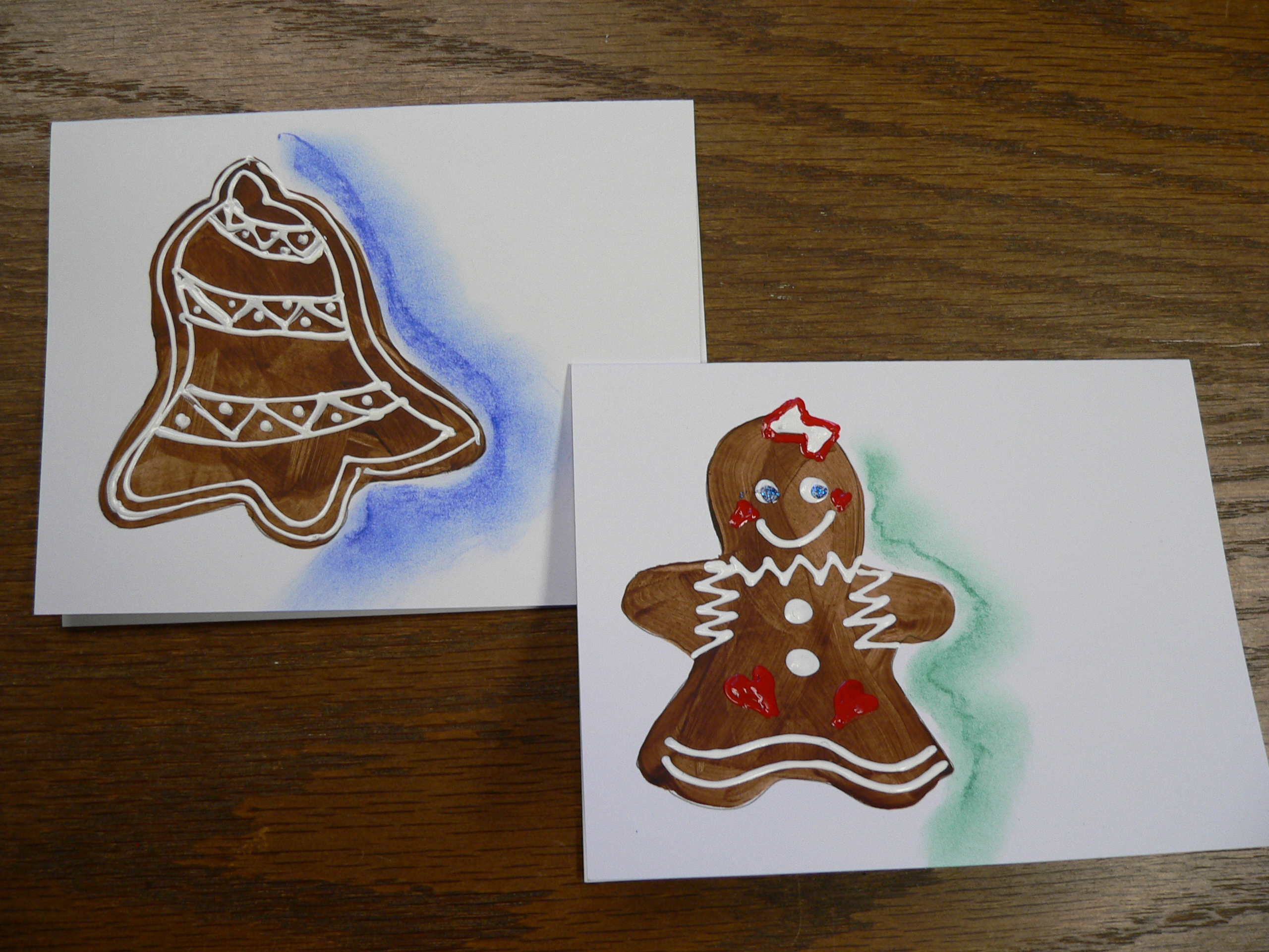"New line of ""Gingerbread Cookies"" Custom Christmas Cards ..."