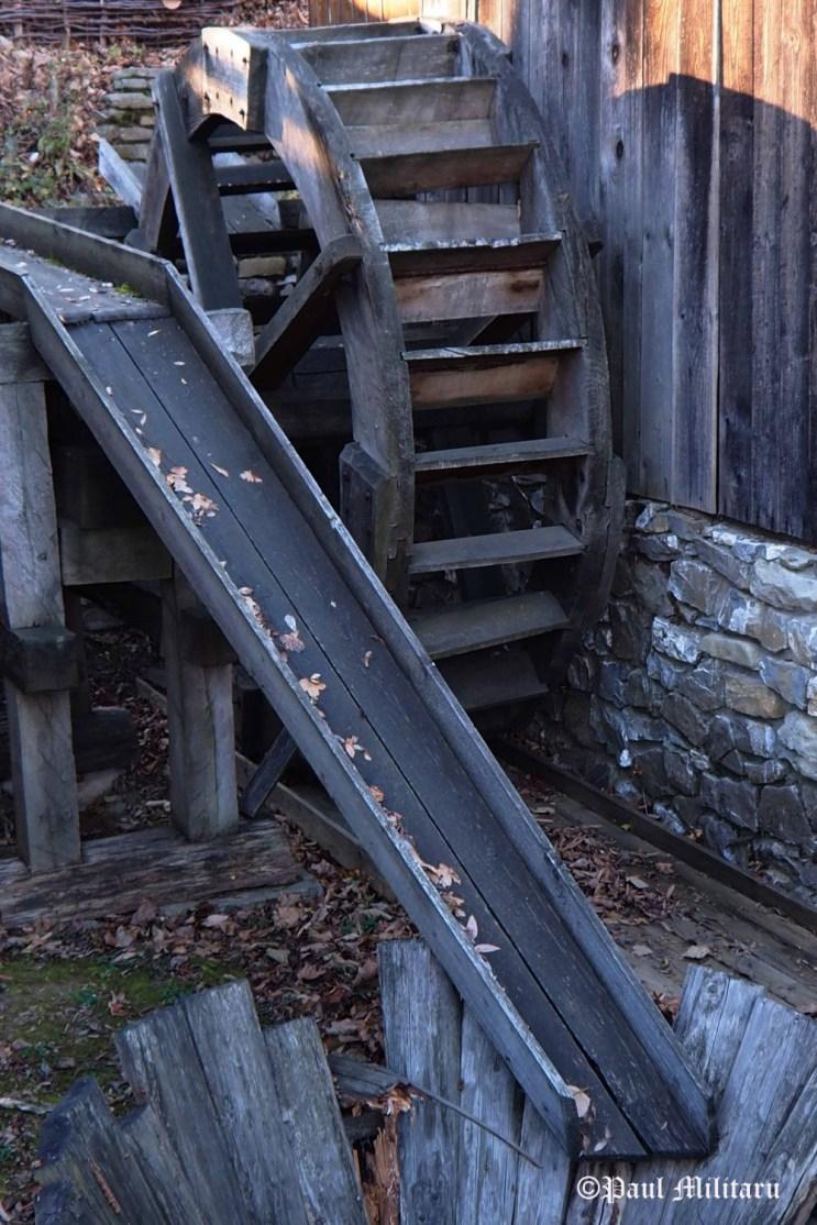 """Wood Water Mill"" - Paul Militaru Photography"