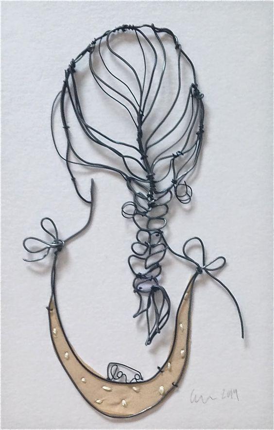 Wire Art   creativeartworksblog