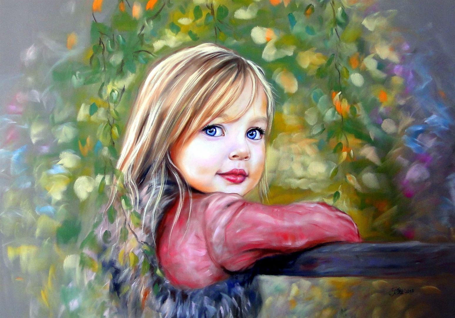 paintings of children | creativeartworksblog