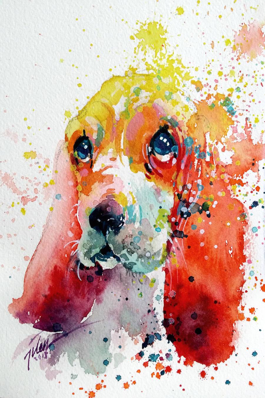 animal paintings creativeartworksblog